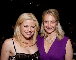 Rich Kessler Photographhy Bark Ball 2012 Megan Hilty and Lisa LaFontaine